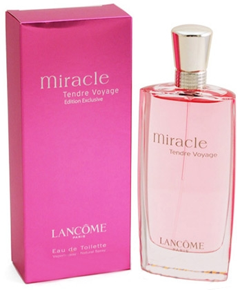 Lancome Miracle Tendre Voyage Edition Exclusive